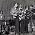 The Blue Rockin' Stars 1961 vlnr: Wil Haneveer, Rein Klooster, Henk de Vries, Charles de Cort, Hans Emmerik