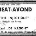 """1969  Woensdrecht - Beat-avond Zaal """"De Kroon"""
