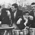 TRIO '67 vlnr: Martin Nouwens, Ben de Groot, Jules Ketelaars en Twan Ketelaars R.I.P. (vader van Jules en manager van het trio)