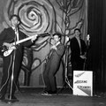 THE ROCKING SCREAMERS tijdens een avondvullend optreden in het Gemeenschapshuis te Oudenbosch op 22 november 1963.