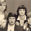 THE HERALDS 1966 vlnr:  Cyriel Havermans - Jan Marijnissen - Ben Murawski - Harry Groeneveldt