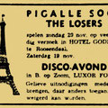 THE LOSERS - Pigalle Soos, Hotel Goderie, Roosendaal 20 november 1966.