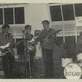 THE INSTIGATORS (mei 1964) vlnr: Toon van Dodewaard - Edwin Musch - Rudy Musch - Eddy Ponjee
