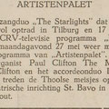 THE STARLIGHTS: De Eendrachtbode 24-5-1968