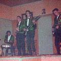 THE SKYLIGHTS - Hollands Huis, Scherpenisse 27-11-1962 vlnr: Kees Vermeulen, Hans van Es,  Johan Geluk en Marcel Vinjé.