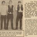 Brabants Nieuwsblad: Las Vegas - Geef ze de Vijf - Wilhelminazaal 7 mei 1966