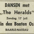 THE HERALDS: Dagblad de Stem 15-7-1966