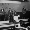 The Moving Stars tijdens optreden 30-jarig bestaan O.N.S.