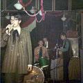 "Donderdag 5 dec. 1968 -  Bergen op Zoom -  Sinterklaasavond drumband ""Odiles Rapid"""
