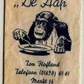 """Suikerzakje """"De Aap"""" - Ton Hofland."""