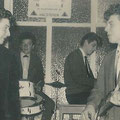 1964 The Rocking Strangers in de Ahoy bar.