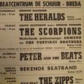Beatcentrum De Schuur - 6 t/m 8 oktober 1966