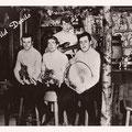 THE WILD DEVILS - Bar 't Pakhuske, maart 1966 - L-R: Peter Janssen, Claus 'Claudio' van Wanrooy, Ad de Best en Noud Wouters