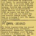 THE INSTIGATORS/ R'daal Sound: Azaleablad van St. Michel ULO, Roosendaal (maart 1964).