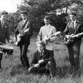 The Teddy Bears (1962) vlnr: Hans Canters, Jan Korebrits, Sjef Gladdines, Cees van Riel, Stefan Swaczyna