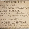 Sterrenjacht Hotel Central, Roosendaal jan. 1963