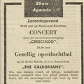 THE CALDONIANS: PZC 15 augustus 1957