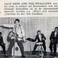 Jack Dens & The Swallows: Muziek Parade mei 1961