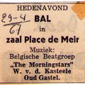 THE MORNING STARS - Place de Meir, Oud Gastel 29-4-1967