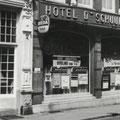 Hotel De Schuur, Catharinastraat 17-19, Breda (1967) in de 1950/1960-er jaren vermaard om zijn dansavonden in het weekend.