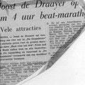Krantenknipsels uit hun succesvolle beat periode