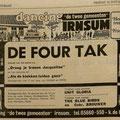 DE FOUR TAK: Leeuwarder Courant 14-1-1972