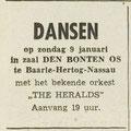 THE HERALDS: Dagblad de Stem 7-1-1966