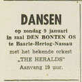 THE HERALDS: Dagblad de Stem 7-1-1966