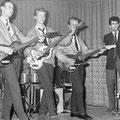 The Blue Rockin' Stars Optreden in Café/Zaal De Nieuwe Haven 3 juni 1962