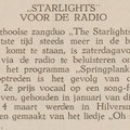THE STARLIGHTS: De Eendrachtbode 21-3-1968