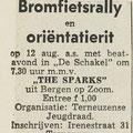 The Sparks: Dagblad de Stem 7-8-1967