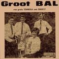 THE SONNY BOYS (1966-1967) L-R: Kees Verhulst, Tony van Dorst, Joke van Osch, Gerard van Doren.