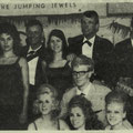 Jumping Jewels Nieuwjaarsshow 1 jan. 1963 met Johnny Lion, The Jumping Jewels, Hans Boekhout en 3 danseressen