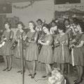 De Fatimo's in maart 1963 op de planken in Gasthof De Gulden Schaduw in Waasmunster (België)