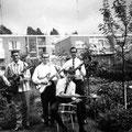 The Lucky Charms -  mei 1964 vlnr: Kees van der Meijden - Cees van Merriënboer - Kees Spaapen - Andy Keim (foto: Cees van Merriënboer)