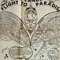 Pamflet Lowlands - Flight to Paradise - 24/25 november 1967 - Margriethal jaarbeurs Utrecht.