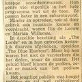 Verslag in de krant van de grote teenager show op 29-12-1963 (2)