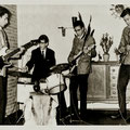 THE INSTIGATORS (1964) vlnr: Toon van Dodewaard - Eddy Ponjee - Edwin Musch - Rudy Musch