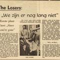 THE LOSERS: Brabants Nieuwsblad 1966