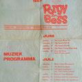 Programma 10 jaar jazzcafé Porgy & Bess, Terneuzen (juni/juli 1967)