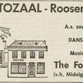 THE FOUR TAK: Dagblad De Stem 13-10-1967