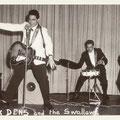 Jack Dens & The Swallows (1961) vlnr: Nico Takarindingan (bas), Jack de Nijs (zang/gitaar), Henk Voorheijen (drums) en Gerrit 'Nono' Gillet (sologitaar).