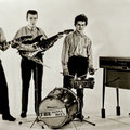 THE SONNY BOYS (1966-1967) L-R: Tony van Dorst, Harry Balemans, Kees Verhulst, Gerard van Doren