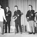 The Blue Rockin' Stars Optreden in Café/Zaal De Nieuwe Haven 14 oktober 1963