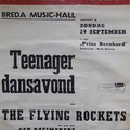 THE FLYING ROCKETS - Teenager dansavond in Zaal Prins Bernhard op 29 september 1963