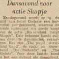 Brabants Nieuwsblad 31-8-1963 - Roosendaal helpt Skopje - Hotel Goderie