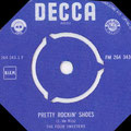 THE FOUR SWEETERS - Pretty Rockin' Shoes (Decca 1960)