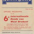 THE CALDONIANS: Programmaboekje 6e Int. Jeugdronde van West-Brabant 8 t/m 13 augustus 1961