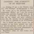 THE STARLIGHTS: De Eendrachtbode 16-5-1968