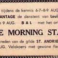 THE MORNING STARS - augustus 1966